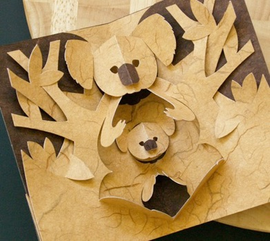 свой цитатник или сообщество!  Источник.  Открытки - киригами (без схем).  Прочитать целикомВ.