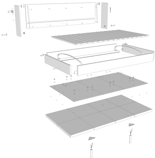 moddi murphy bed instructions download